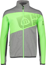 Men's green power fleece jacket ZEAL - NBSMF5566