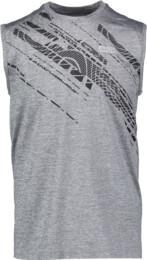 Szürke férfi funkciós fitness trikó DOODLE