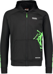 Men's black power fleece jacket YES - NBSSM5584