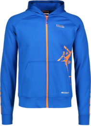 Men's blue power fleece jacket YES - NBSSM5584