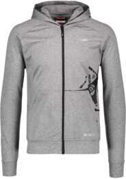 Men's grey power fleece jacket YES - NBSSM5584