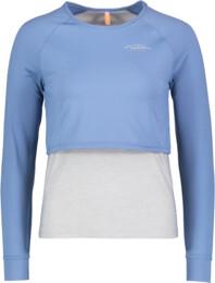 Kék női póló jógára FAIR - NBSLF5594