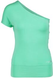 Zelené dámské tričko na jógu SINCERITY - NBSLF5595