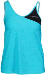 Kék női funkciós fitness trikó TRIG - NBSLF5599