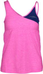 Rózsaszín női funkciós fitness trikó TRIG - NBSLF5599