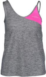 Šedé dámské funkční fitness tílko TRIG - NBSLF5599