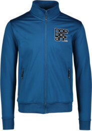 Men's blue power fleece jacket SULTRY - NBSMS5614