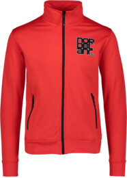Men's red power fleece jacket SULTRY - NBSMS5614