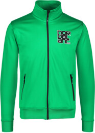 Men's green power fleece jacket SULTRY - NBSMS5614