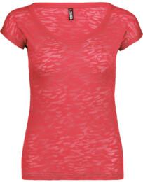 Růžové dámské tričko SNEAKY