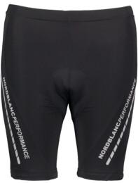 Čierne dámske cyklistické krátke nohavice STEADY - NBSPL5680