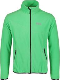 Zelená pánska ľahká fleecová mikina STIR - NBSFM5683