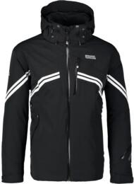 Men's black ski jacket PEAK