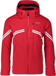 Červená pánska lyžiarska bunda PEAK