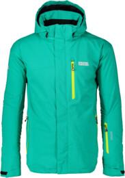 Men's green ski jacket HELISKI