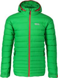Men's green down jacket STROKE