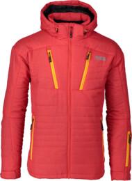 Geacă de schi roșie pentru bărbați TRANSFORM