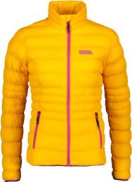 Oranžová dámska prešívaná bunda FUTURITY - NBWJL5839
