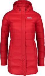 Červený dámský zimní péřový kabát ENDURE