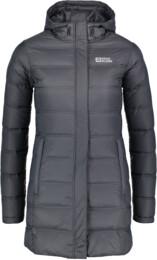 Šedý dámský zimní péřový kabát ENDURE