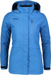 Modrý dámský zimní kabát ACCEPT - NBWJL5845