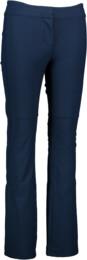Women's blue ski softshell pants CREED