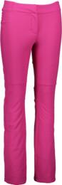 Women's pink ski softshell pants CREED