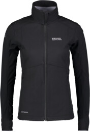 Women's black softshell jacket with fleece jacket SWEETIE - NBWSL5859