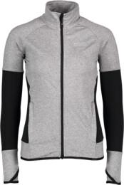 Women's grey power fleece jacket LUST - NBFLF5868
