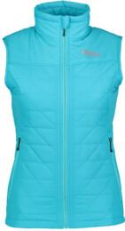 Modrá dámska zimná vesta KIND - NBWJL5875