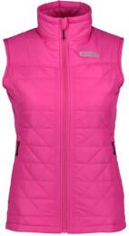 Ružová dámska zimná vesta KIND - NBWJL5875