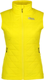 Žltá dámska zimná vesta KIND - NBWJL5875
