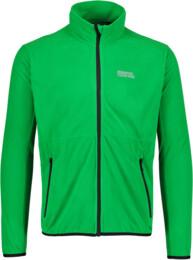 Zelená pánska ľahká fleecová mikina ROLE - NBWFM5878