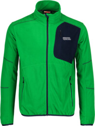 Zelená pánska ľahká fleecová mikina SPANNER - NBWFM5879