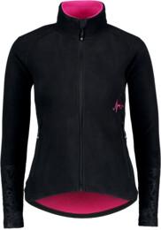 Hanorac din fleece negru pentru femei WITTY - NBWFL5883
