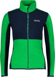Hanorac din fleece verde pentru femei VIVID - NBWFL5884