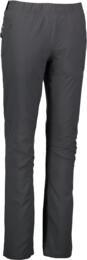 Šedé dámske zateplené outdoorové nohavice FATED - NBFPL5895