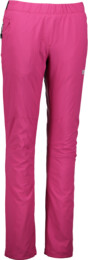 Women's pink outdoor pants with fleece FATED - NBFPL5895