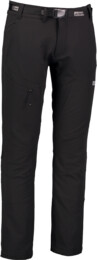 Pantaloni de timp liber negri pentru bărbați FOSTER - NBFPM5898