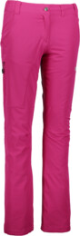 Women's pink insulated outdoor pants INVITING - NBFPL5903