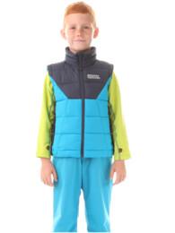 Modrá dětská zimní vesta AVID - NBWJK5910S