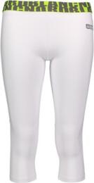 Bílé dámské 3/4 fitness legíny STAMP - NBSPL6163