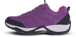 Fialové dámské kožené outdoorové boty MAIN LADY - NBLC81