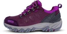 Fialové dámske kožené outdoorové topánky ROCKY LADY - NBLC84