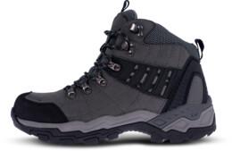 Szürke férfi outdoor bőr cipő EARTH - NBHC86