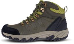 Khaki férfi outdoor bőr cipő RUGGED - NBHC87