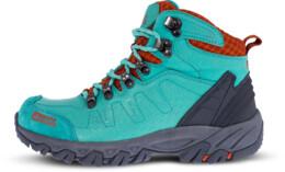 Zelené dámske kožené outdoorové topánky RUGGED LADY - NBHC88