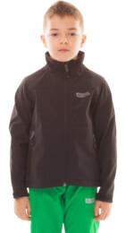 Černá dětská zateplená softshellová bunda RULE - NBWSK4664S