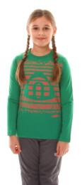 Zelené detské bavlnené triko SURGE