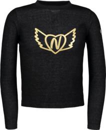 Kinder Sweatshirt schwarz MUSHY